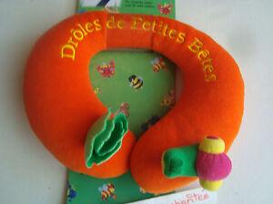 Traveller Travel Head Rest Headrest Humorous of Small Bêtes Snail JEMINI