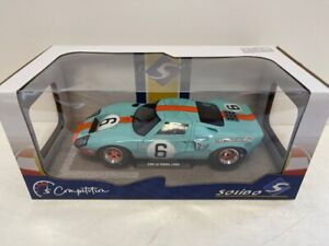 Solido 1:18 Ford GT40 Mk1 #6 – 1969 Le Mans Winner - S1803003 - Damaged Box