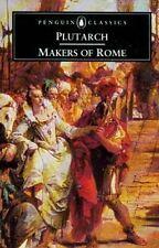 Plutarch Makes of Ancient Rome Cato Gracchus Mark Antony Maximus Tiberius Brutus