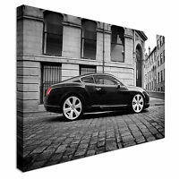 bentley continental GT Canvas Canvas Wall Art Picture Print