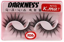 10 Pairs Darkness False Eyelashes Kma7 k.ma k-ma