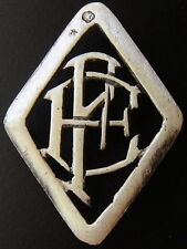 MONOGRAMMES ARGENT MASSIF EF FE INITIALE CHIFFRE SOLID SILVER MONOGRAMS ART DECO