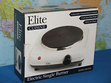 ELITE CUISINE ELECTRIC SINGLE BURNER MODEL ESB-301F BY MAXI-MATIC **BRAND NEW**