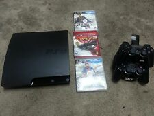 Sony PlayStation 3 Slim 160 GB + extra controller + 2 games