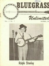 1969 December Bluegrass Unlimited Magazine Back-Issue
