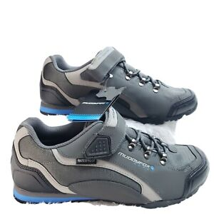 Muddyfox Men's 9.5 Tour 200 Low Waterproof Cycling Shoes Sport Cycle Trainers
