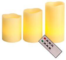 Best Season 066 70 Bougies LED en Cire avec Télécommande