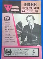 TV FACTS Baltimore-Washington listings magazine (February 23 1975) Andy Williams