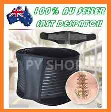 Lumbar & Lower Back Support Belt Brace Strap Pain Relief Posture Waist Trimmer