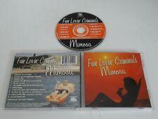 FUN LOVIN CRIMINALS/MIMOSA(7243 5 23459 2 2) CD ALBUM