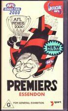 AFL Grand Final 2000 - PREMIERS ESSENDON - VHS Tape