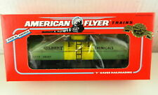 AMERICAN FLYER/Lionel S Scale #6-48407 Gilbert Chemicals Tank Car ~NIB~  T140