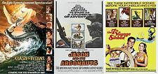 Ray Harryhausen - A4 Laminated Mini Movie Posters - Buy 4 Get 1 FREE!