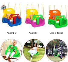 Babyschaukel Kinderschaukel Spielaeug 3 in 1 Schaukelset Innen und Außen