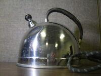 Tea Kettle GE General Electric Model E-140 1000W circa 1930-1940