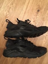 Nike Huarache Black Nero Scarpe Shoes Sneakers US 5Y EUR 37,5 UK 4,5 Come Nuove