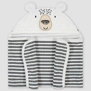 Gerber Baby Bear Hooded Bath Towel Wrap