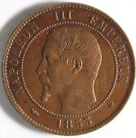 MODULE 10 CENTIMES NAPOLEON III VISITE À LILLE 1853