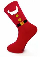 Santa Claus Outfit Socks Christmas cotton gift mens xmas red Costume Holidays