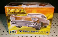 Revell 1958 Chevrolet Imala 2 N 1 Lowrider/ parts are factory sealed
