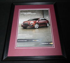 2015 Chevrolet Chevy Cruze 11x14 Framed ORIGINAL Advertisement