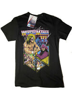 NEW WWE WRESTLEMANIA VI T SHIRT ULTIMATE WARRIOR MACHO MAN  WRESTLING TEE Small