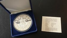 Budapest Mint 1986 Treasures of Hungary 5 oz Proof .999 Silver Round