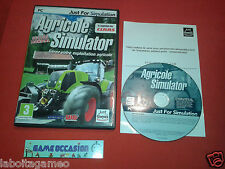 AGRICULTURAL SIMULATOR PC CD-ROM FR COMPLETE