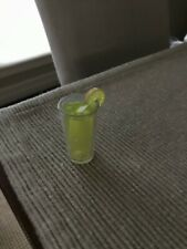 """18"""" doll Lemonade glasses cup fits American Girl kitchen Our Generation toy"""