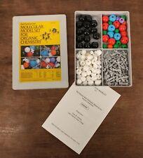 1984 Prentice Hall Molecular Model Set Organic Chemistry Molymod Complete