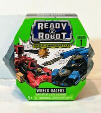 NEW!! Ready2Robot - Wreck Racers Robot Vehicles with Slime - Series 1 Kids Toy