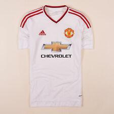 Adidas Herren Trikot Jersey Gr.S Manchester United Climacool Weiß 80306