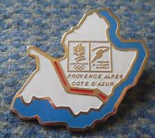 OLYMPIC ALBERTVILLE 1992 COTE D'AZUR PROVINCE PIN BADGE
