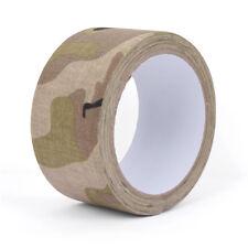 10m Adhesive Tape - Light Multitarn Camo - Army Military Sniper Airsoft 10m New