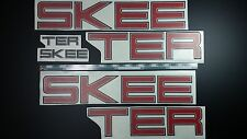 "SKEETER boat Emblem 40"" Epoxy Stickers Resistant to mechanical shocks"
