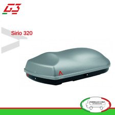 Box baule portatutto tetto Portapacchi Auto Capacita' 240 lt G3 Sirio 320 22160