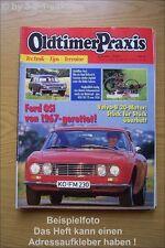 Oldtimer Praxis 9/93 Opel Rekord Caravan VW Ford OSI