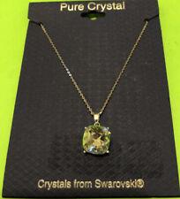Gorgeous Pure Crystal Pendant Necklace Swarovski
