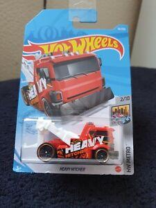 Hot Wheels 2021 Heavy Hitcher *36/250 HW Metro *2/10 GRX80 Long Card