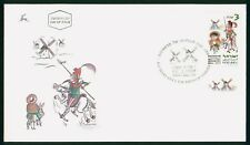 MayfairStamps Israel 1997 Riding horse & donkey First Day Cover wwr14993