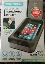 Zerogerm Ultra Violet Phone, Keys, Remote, Makeup Brush Sanitizer As Seen on Tv