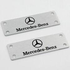 Fit For Mercedes-Benz All Models  Car Logo Floor Mat Carpet Emblem Badge Pedals