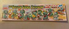 Die Dapsy Dino Family Beipackzettel Ferrero Sammlung Ü-Ei
