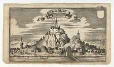 Donaustauf (Haut-palatinat): thonaustauff. - cuivre clés de A. w. ERTL, 1687-1690