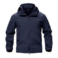 TACVASEN Waterproof Tactical Soft Shell Men Jacket Coat Army Windbreaker Outdoor Atas FG 4xl