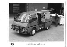 """Vauxhall Midi Panel Van 'H' registrado Original Foto De Prensa folleto de ventas"""""""""""