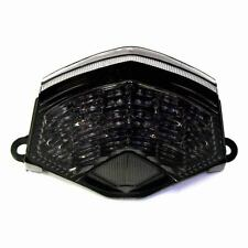 Kawasaki 2009-12 Ninja ZX6R ZX-6R DMP Integrated LED Tail Light - Smoke