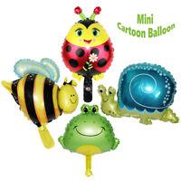 5Pcs Cute Big Size Animal Head Balloons Helium Foil Ballons Birthday Theme Party