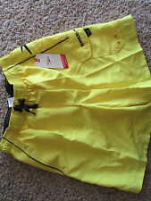 NEW SPEEDO SWIM SUIT WATERSHORTS TRUNKS MENS S YELLOW 78402609 232 FREE SHIP
