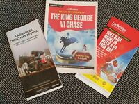 Desert Orchid Chase day Racecards Kempton Park 27/12/19! FREE UK DELIVERY!!!